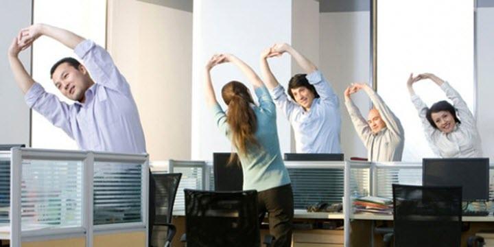 Физкульт-пауза на рабочем месте