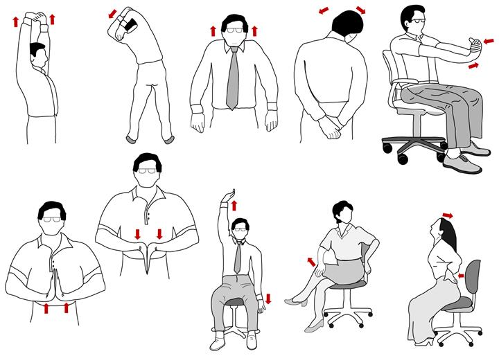 Упражнения при остеохандрозе