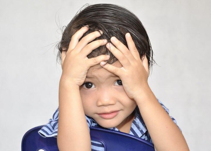 Кружится голова у ребенка