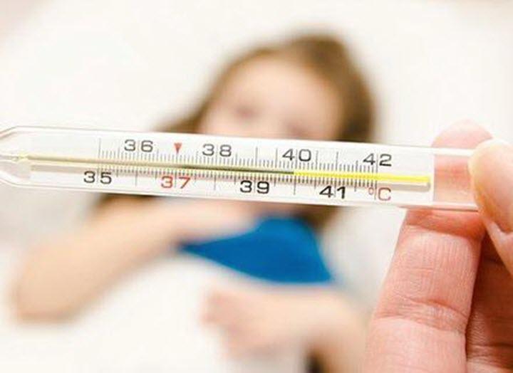 Высокая температура как симптом менингита