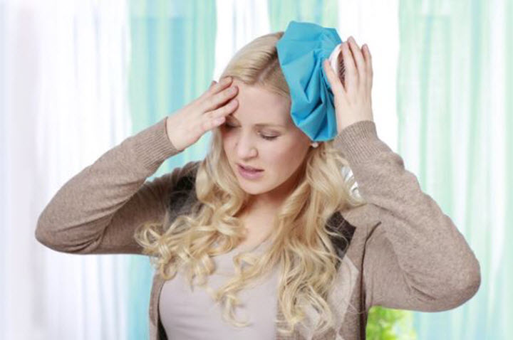 Холод пр травме головы