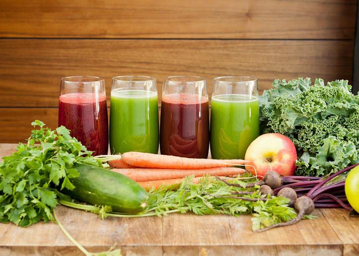 Овощные соки при склерозе