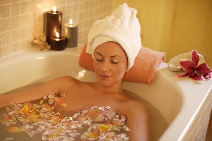 Расслабляющая ванна при депрессии