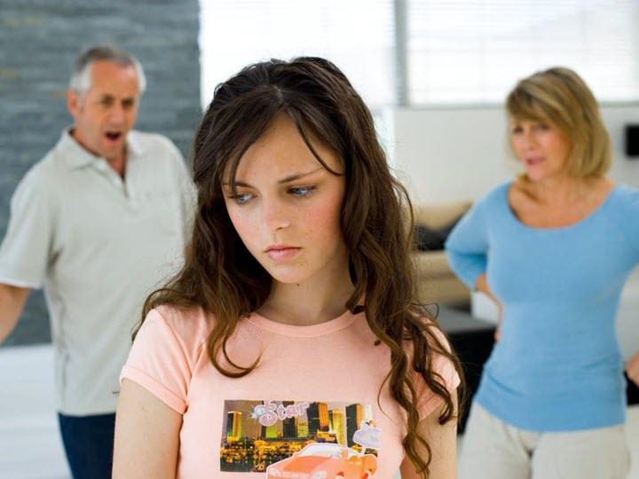 Неблагоприятная семейная атмосфера